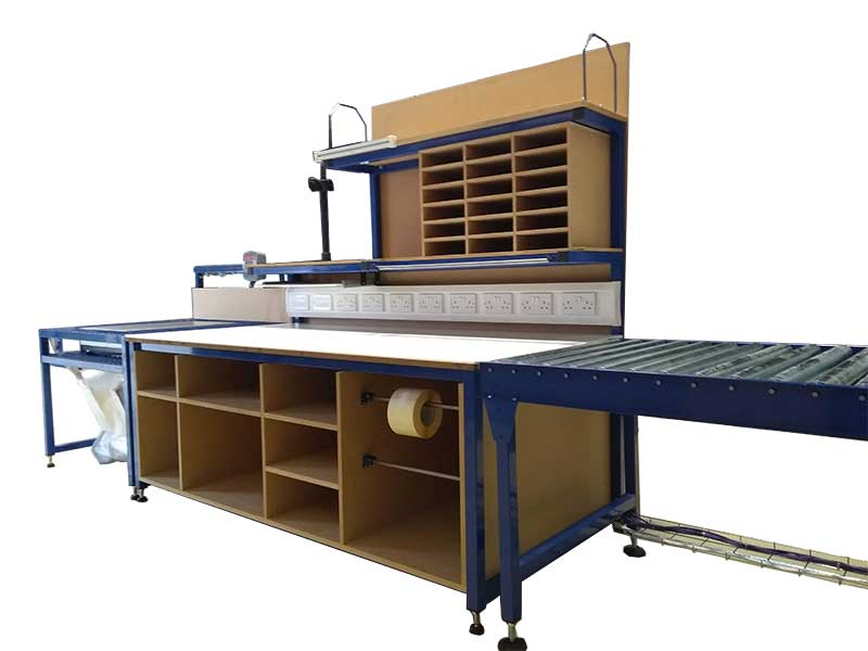 packing table