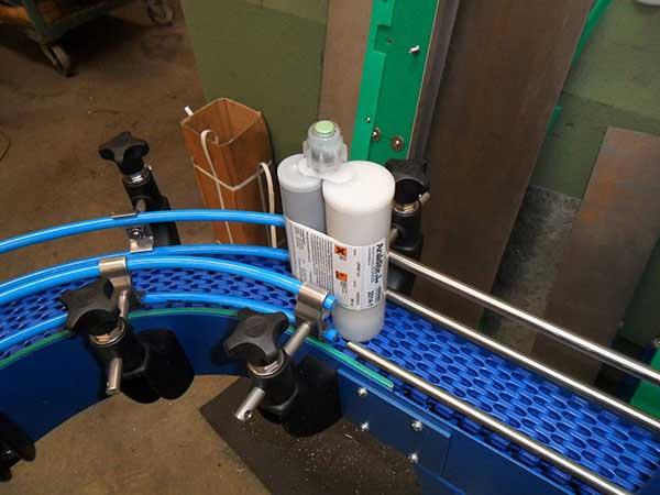 small thin modular conveyor
