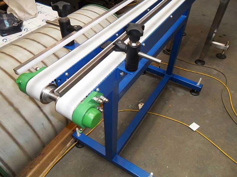 small belt conveyor