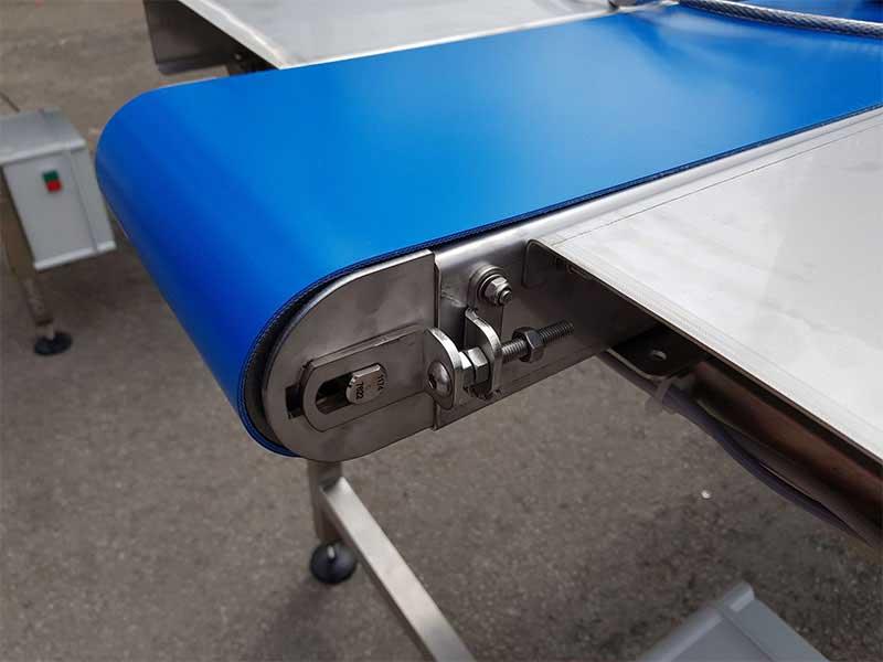 stainless steel belt conveyor end