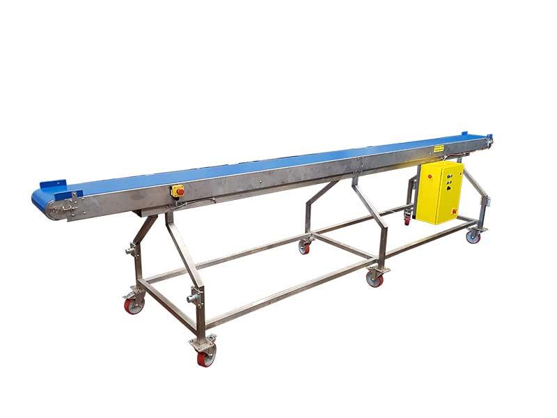Product transport conveyor